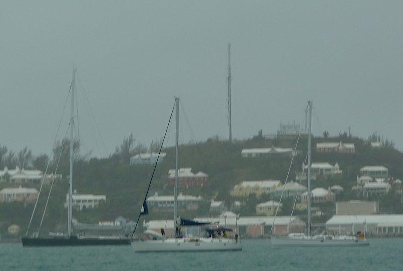 Bermuda rainsquall