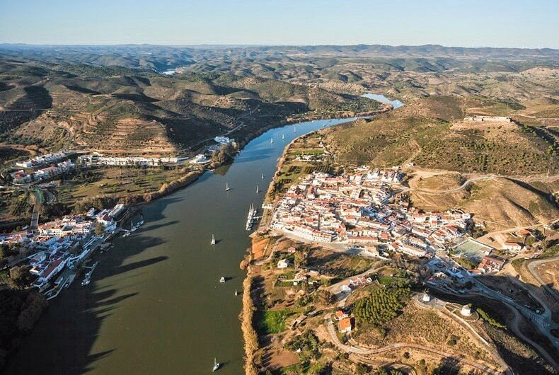 Guadiana aerial