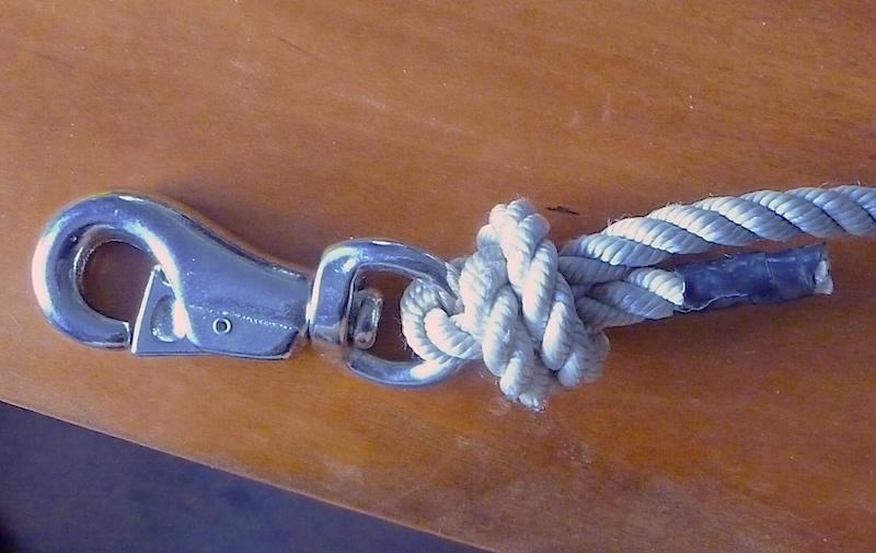 Halyard knot
