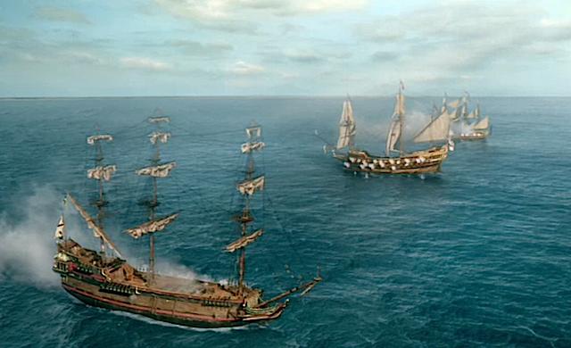 Black Sails combat