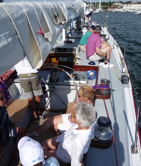 American Eagle deck