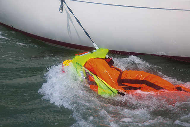safety harness dynamics are you really safer tethered to your boat Laptop Harness pbo test