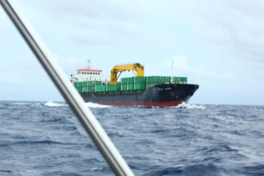 Ship too close