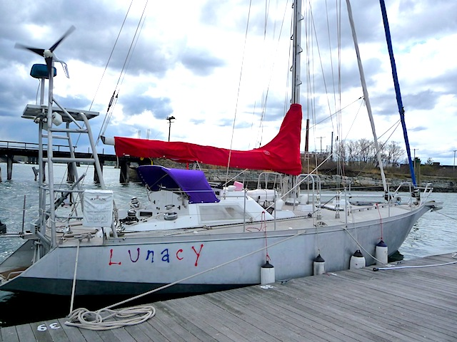 Lunacy on dock