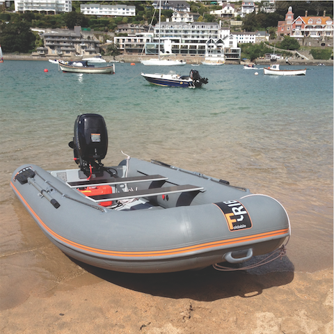 FOLDING RIB DINGHY: The Best of Both Worlds in an Inflatable