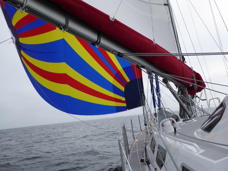New Lunacy under sail