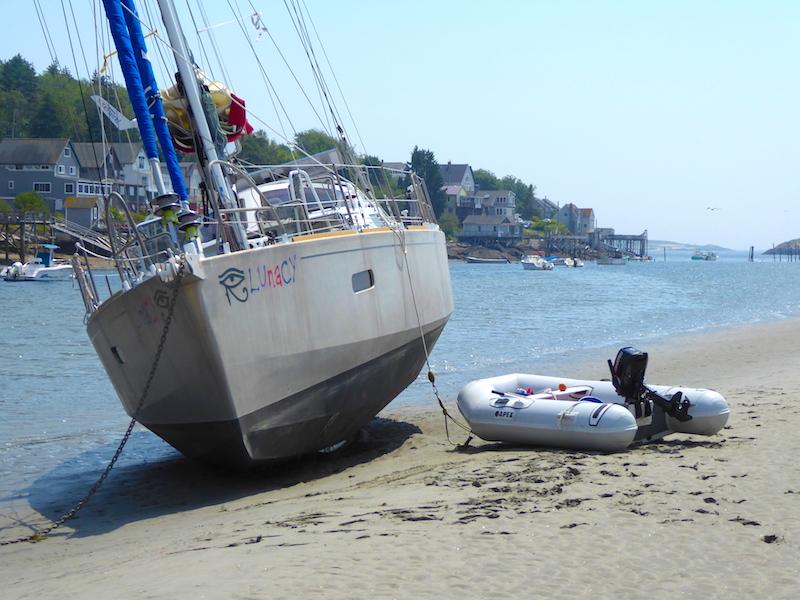 Lunacy aground