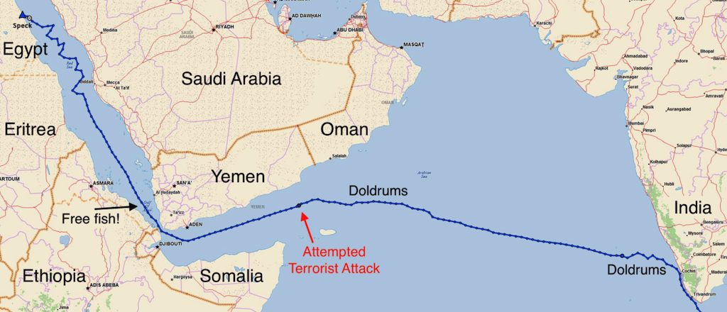 OF PIRATES AND TERRORIST DRONES: An Indian Ocean/Red Sea Transit