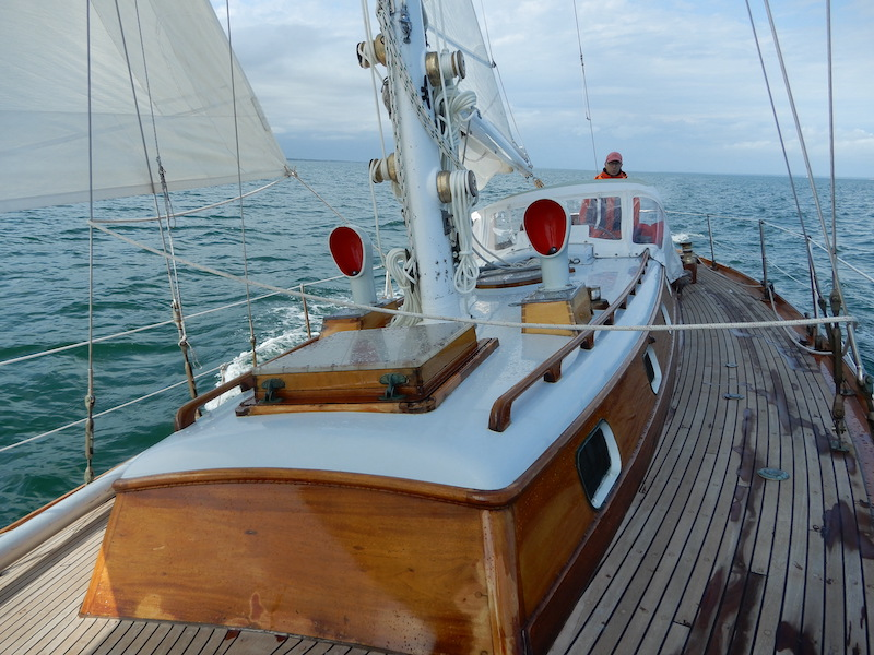 COASTAL DELIVERY: From Marblehead MA to Southport CT On a Classic Aage Nielsen Sloop